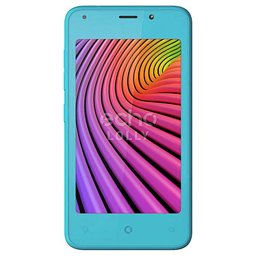 "Eco Lolly Azul Smartphone 3G+ Dual SIM - SC7731C Quad-core 1.2 GHz - RAM 1 GB - Pantalla táctil 4"" - 16 GB - Bluetooth 2.1 - 1400 mAh - Android 7.0"