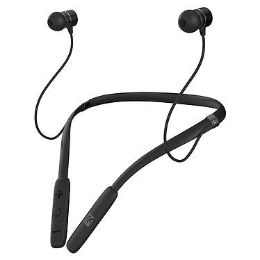 iFrogz Flex Arc Noir Écouteurs intra-auriculaires sans fil Bluetooth avec télécommande et microphone
