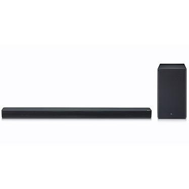 LG SK8 Barre de son 2.1 360 W - Dolby Atmos Virtual/DTS Virtual:X - Hi-Res Audio - Wi-Fi/Bluetooth - ChromeCast - HDMI/Ethernet - Compatibilité Assistant Google - Caisson de basses sans fil