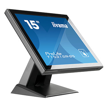 "Avis iiyama 15"" LCD Tactile Résistive - ProLite T1531SR-B5"
