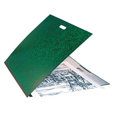 Exacompta Carton à Dessin Annonay Poignée 52 x 72 cm - Raisin  Carton à dessin avec élastiques et poignée pour format Raisin