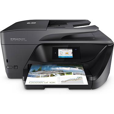 HP OfficeJet Pro 6970 Imprimante Multifonction jet d'encre couleur 4-en-1 recto-verso automatique (USB 2.0 / Fast Ethernet / Wi-Fi)