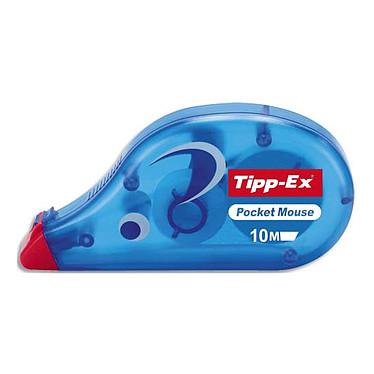 TIPP-EX correcteur Pocket mouse - 10 mètres Ruban correcteur jetable 4.2 mm x 10 m