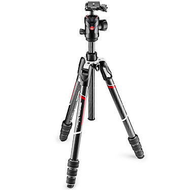 Manfrotto Befree GT - MKBFRTC4GT-BH Carbone/Noir