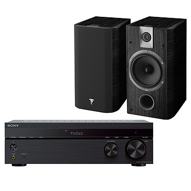 Sony STR-DH190 + Focal Chorus 605 Black Style