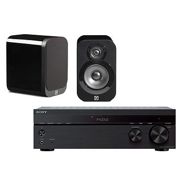Sony STR-DH190 + Q Acoustics 3010 Noir laqué