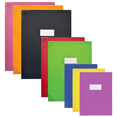 Elba Strong Line Opaque 24 x 32 cm Rouge  Protège cahier opaque - 24 x 32 cm