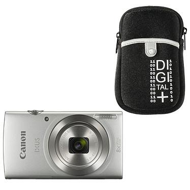 Canon IXUS 185 Argent + Vanguard Beneto 6 Noir