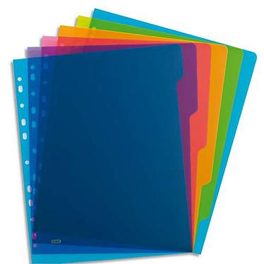 Elba Intercalaires Format A4 6 touches - Assortis