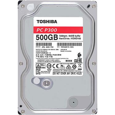 Avis Toshiba P300 500Go