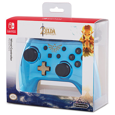 PowerA Nintendo Switch Chrome Wired Controller - The Legend of Zelda pas cher