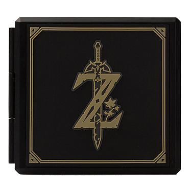 PowerA Switch Game Card Case - Zelda : Breath of the Wild Boîte de protection 12 jeux pour Nintendo Switch et 12 cartes microSD