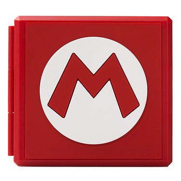 PowerA Switch Game Card Case - Mario M Boîte de protection 12 jeux pour Nintendo Switch et 12 cartes microSD