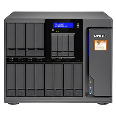 "QNAP TS-1635AX-4G Serveur NAS 16 baies ( 12 HDD 3,5"" + 4 HDD/SSD 2,5"") avec 4 Go de RAM avec processeur quad-core MarvellARMADA8040 ARMv8 Cortex-A72 1,6 GHz (sans disque dur)"