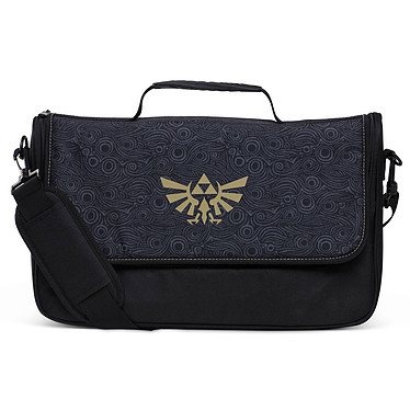 PowerA Everywhere Messenger Bag - Zelda Sacoche de transport pour console Nintendo Switch et accessoires