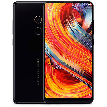 "Xiaomi Mi Mix 2 Negro (64 GB) Smartphone 4G-LTE Advanced Dual SIM - Snapdragon 835 8-Core 2.45 GHz - RAM 6 GB - Pantalla táctil 5.99"" 1080 x 2160 - 64 GB - NFC/Bluetooth 5.0 - 3400 mAh - Android 7.1"