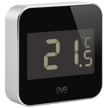 Eve Degree Capteur de température, humidité et pression sans fil connecté IPX3 compatible Apple HomeKit