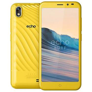 "Echo Surf Amarillo Smartphone 3G+ Dual SIM - SC7731C Quad-core 1.2 GHz - RAM 1 GB - Pantalla táctil 5"" 480 x 854 - 16 GB - Bluetooth 2.1 - 2000 mAh - Android 7.0"