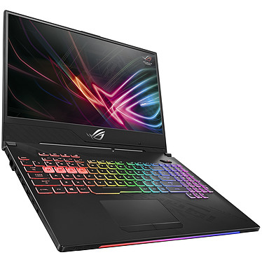 "ASUS ROG Strix Hero II GL504GM-ES057 Intel Core i7-8750H 8 Go SSD 128 Go + HDD 1 To 15.6"" LED Full HD 144 Hz NVIDIA GeForce GTX 1060 6 Go Wi-Fi AC/Bluetooth Webcam Sans OS (garantie constructeur 2 ans)"