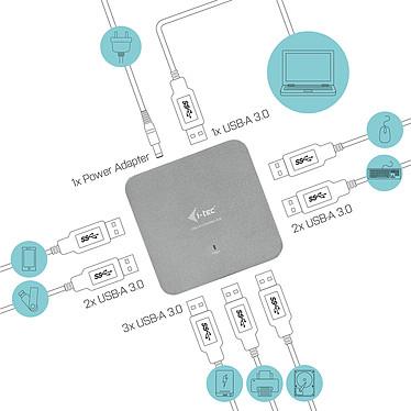 Acheter i-tec USB 3.0 Metal Charging Hub 7 Port