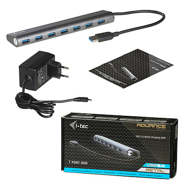 Avis i-tec USB 3.0 Metal Charging Hub 7 Port