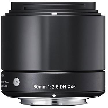SIGMA 60mm F2.8 DN Noir monture Sony E Téléobjectif pour hybride