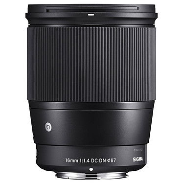 SIGMA 16mm F1.4 DC DN Noir monture Sony E Objectif grand-angle pour hybride