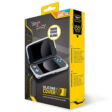Avis Steelplay 2DS XL Silicone Cover Blanc