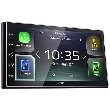 """JVC KW-M741BT Autoradio FM / MP3 avec écran tactile 6.8"""" port USB pour iPod / iPhone / smartphone, Bluetooth, Apple CarPlay et Android Auto"""