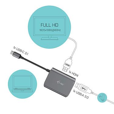 Acheter i-tec USB-C Metal HUB + HDMI