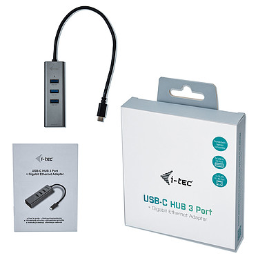 Comprar i-tec USB-C Metal Hub 3 Port + Gigabit Ethernet