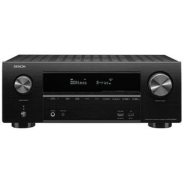 Denon AVR-X2500H Noir Ampli-tuner Home Cinema 3D Ready 7.2 - Dolby Atmos / DTS:X - 8x HDMI 4K Ultra HD, HDCP 2.2, HDR - Wi-Fi, Bluetooth, AirPlay 2 - Multiroom - Amazon Alexa