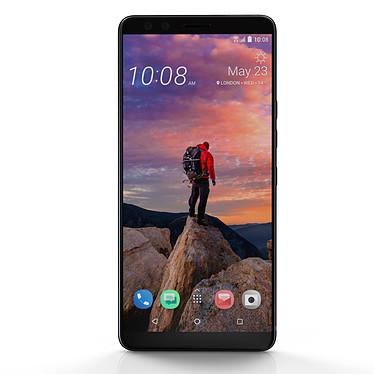 "HTC U12+ Noir Céramique Smartphone 4G-LTE Advanced IP68 Dual SIM - Snapdragon 845 8-Core 2.8 GHz - RAM 6 Go - Ecran tactile 6"" 1440 x 2880 - 64 Go - NFC/Bluetooth 5.0 - 3500 mAh - Android 8.0"