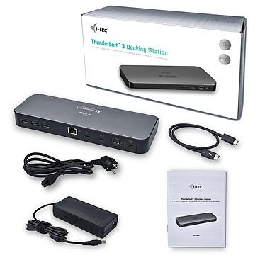 Avis i-tec Thunderbolt 3 Dual 4K Docking Station + Power Delivery
