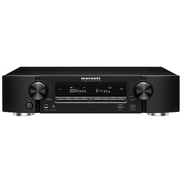 Marantz NR1609 Noir Ampli-tuner Home Cinema Slim 3D Ready 5.2 - Dolby Atmos / DTS:X - 8x HDMI 4K UHD, HDCP 2.2, HDR - Multiroom - Wi-Fi/Bluetooth/AirPlay 2 - Amazon Alexa