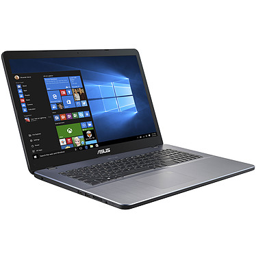 "ASUS R702UA-BX884T Intel Pentium 4417U 4 Go SSD 256 Go + HDD 1 To 17.3"" LED HD+ Wi-Fi N/Bluetooth Webcam Windows 10 Famille 64 bits"