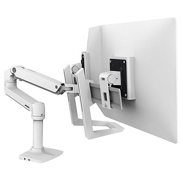 Acheter Ergotron Poignée pour bras LX Dual Direct - Blanc