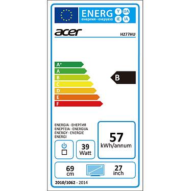 "Acer 27"" LED - H277HUsmipuz pas cher"