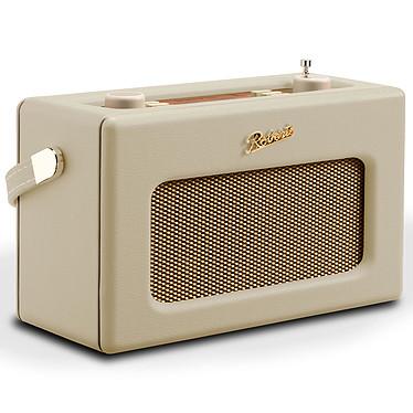 Roberts Revival RD70 Crème Radio-réveil numérique FM/DAB/DAB+ avec Bluetooth, écran couleur, entrée AUX et 2 alarmes