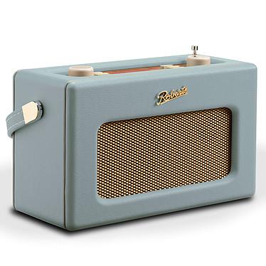 Roberts Revival RD70 Duck Egg Radio-réveil numérique FM/DAB/DAB+ avec Bluetooth, écran couleur, entrée AUX et 2 alarmes