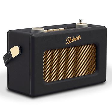 Roberts Revival Uno Noir Radio-réveil numérique FM/DAB/DAB+ avec entrée AUX et 2 alarmes