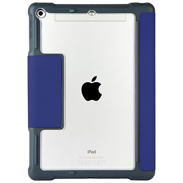 """STM Dux iPad 2017"""" Bleu Étui folio renforcé pour iPad 2017"""