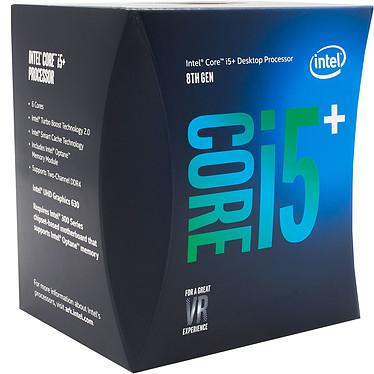 Avis Intel Core i5-8400 (2.8 GHz) + Intel Optane 16 Go M.2 NVMe