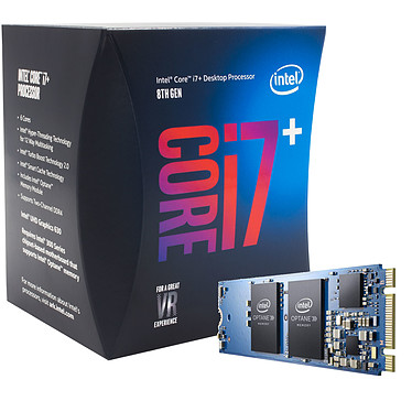 Intel Core i7-8700 (3.2 GHz) + Intel Optane 16 Go M.2 NVMe