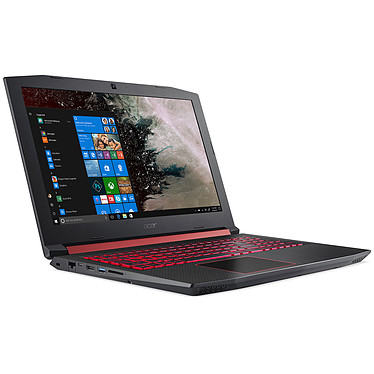 "Acer Nitro 5 AN515-52-700P Intel Core i7-8750H 8 Go SSD 128 Go + HDD 1 To 15.6"" LED Full HD NVIDIA GeForce GTX 1050 Ti 4 Go Wi-Fi AC/Bluetooth Webcam Windows 10 Famille 64 bits (Garantie constructeur 2 ans)"
