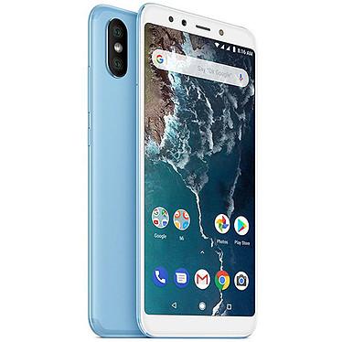 "Xiaomi Mi A2 Bleu (6 Go / 128 Go) Smartphone 4G-LTE Dual SIM - Snapdragon 660 Octo-Core 2.2 GHz - RAM 6 Go - Ecran tactile 5.99"" 1080 x 2160 - 128 Go - Bluetooth 5.0 - 3010 mAh - Android 8.0"