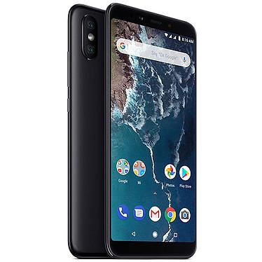 "Xiaomi Mi A2 Noir (4 Go / 64 Go) Smartphone 4G-LTE Dual SIM - Snapdragon 660 Octo-Core 2.2 GHz - RAM 4 Go - Ecran tactile 5.99"" 1080 x 2160 - 64 Go - Bluetooth 5.0 - 3010 mAh - Android 8.0"