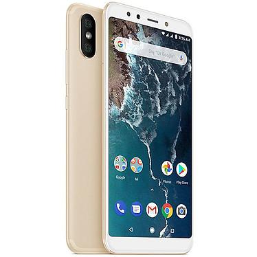 "Xiaomi Mi A2 Or (4 Go / 64 Go) Smartphone 4G-LTE Dual SIM - Snapdragon 660 Octo-Core 2.2 GHz - RAM 4 Go - Ecran tactile 5.99"" 1080 x 2160 - 64 Go - Bluetooth 5.0 - 3010 mAh - Android 8.0"