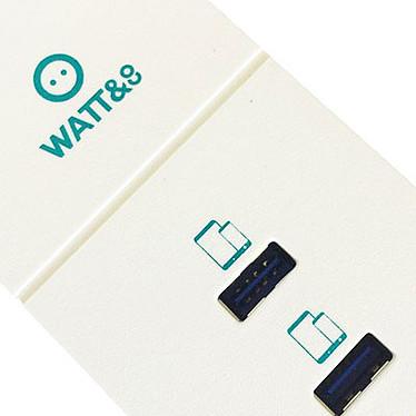 Watt&Co Chargeur USB Réversibles 4 Ports pas cher