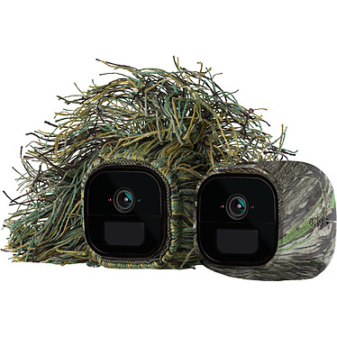 Arlo Go VMA4250 Lot de 2 coques en silicone (camouflage et ghillie) remplaçables pour caméra Arlo Go